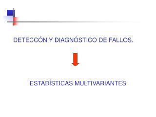 DETECCÓN Y DIAGNÓSTICO DE FALLOS.