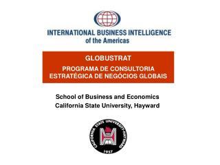 GLOBUSTRAT PROGRAMA DE CONSULTORIA  ESTRATÉGICA DE NEGÓCIOS GLOBAIS