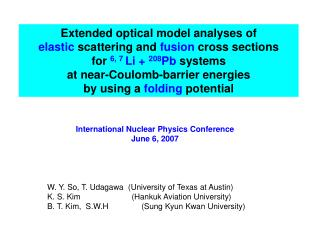 Extended optical model analyses of  elastic  scattering and  fusion  cross sections