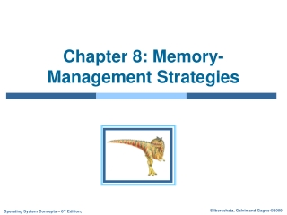 Chapter 8  Memory Management Strategies