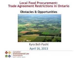Kyra Bell-Pasht April 16, 2013