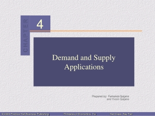 Demand and Supply Applications