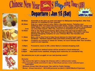 Chinese New Year            S