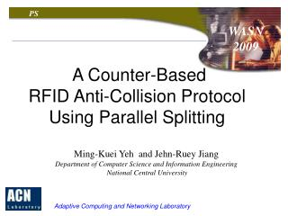 A Counter-Based  RFID Anti-Collision Protocol Using Parallel Splitting