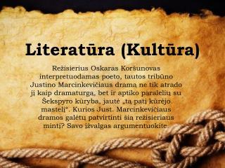 Literat ūra (Kultūra)
