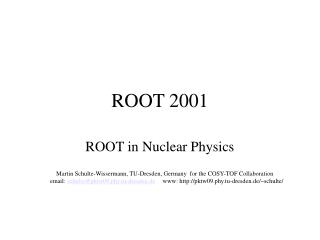 ROOT 2001