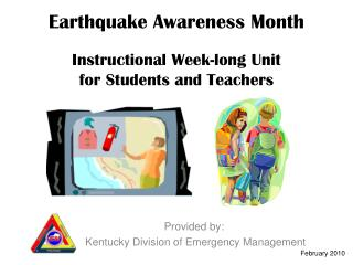 Earthquake Awareness Month Instructional Week-long Unit for Students and Teachers