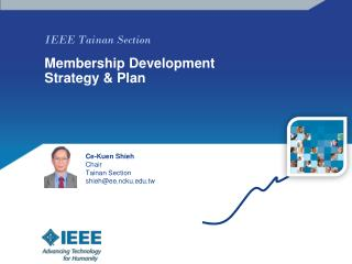 IEEE Tainan Section  Membership Development Strategy & Plan