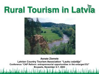 Rural Tourism in Latvia