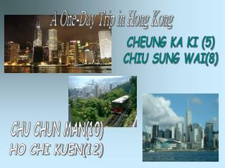 A One-Day Trip in Hong Kong