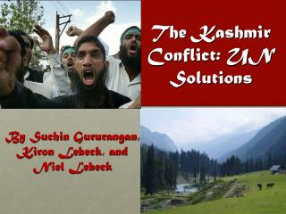 The Kashmir Conflict: UN Solutions