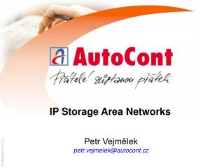 IP Storage Area Networks