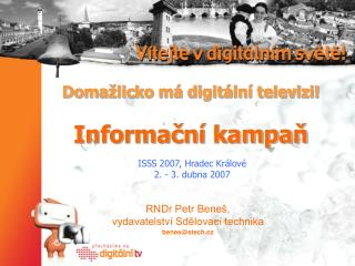 Domažlicko má digitální televizi! Informační kampaň