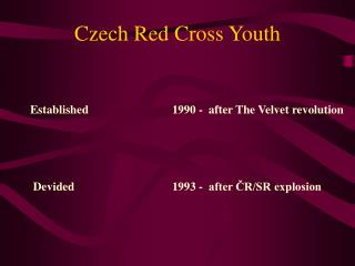 Czech Red Cross Youth