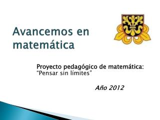 Avancemos en matemática