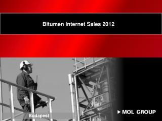 Bitumen Internet Sales 2012