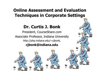 Online Assessment and Evaluation Techniques in Corporate Settings