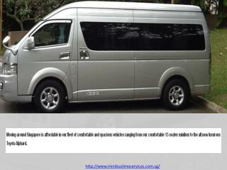 13 Seater Passenger Van Hire Singapore