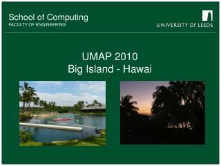 UMAP 2010 Big Island - Hawai