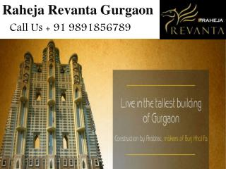 Raheja Revanta New Project Gurgaon