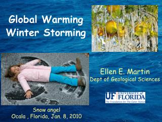 Global Warming Winter Storming