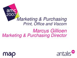 Marketing & Purchasing Print, Office and Viscom