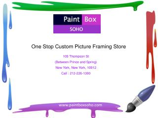 Best Custom Framers NYC � Paintboxsoho.com