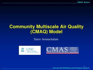 Community Multiscale Air Quality CMAQ Model