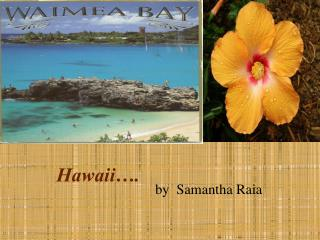 Hawaii�.