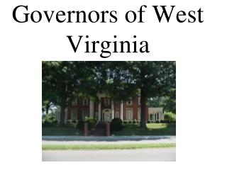 Governors of West Virginia