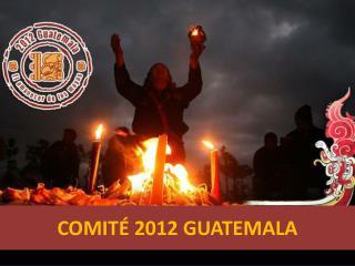 COMITÉ 2012 GUATEMALA