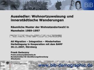 AK Migration – Integration – Minderheiten Herbsttagung in Kooperation mit dem BAMF
