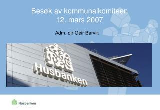 Adm. dir Geir Barvik