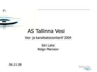 AS  T allinna Vesi