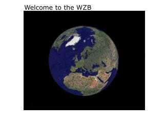 Welcome to the WZB