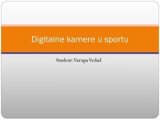 Digitalne kamere u sportu