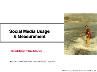 Social Media Usage & Measurement