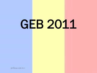 GEB 2011