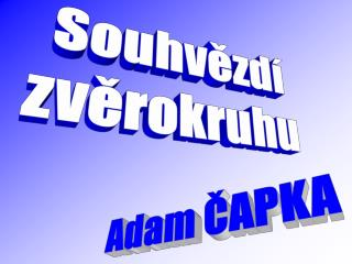 Adam ČAPKA