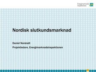 Nordisk slutkundsmarknad