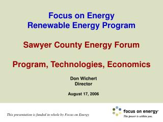 Don Wichert Director August 17, 2006