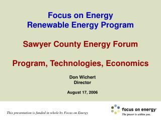 Don Wichert Director August 17, 2006
