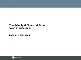 The Principal Financial Group principal