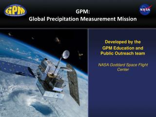 GPM: Global Precipitation Measurement Mission
