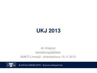 UKJ 2013