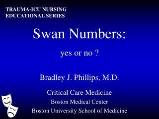 Swan Numbers: