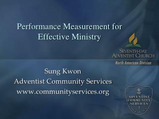 Performance Measurement for Effective Ministry