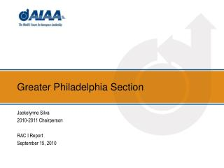 Greater Philadelphia Section