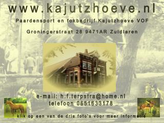 kajutzhoeve.nl