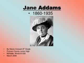 Jane  Addams